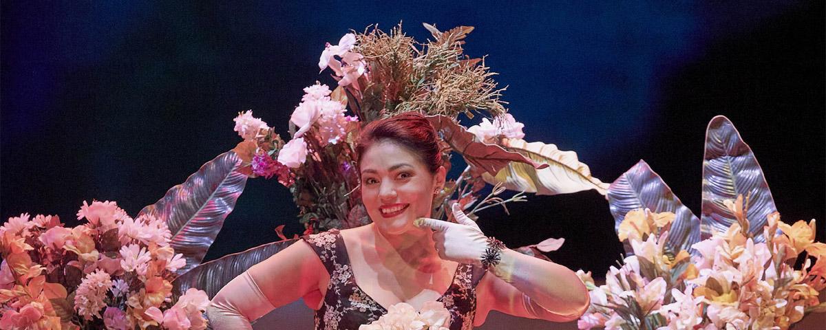 »Manon«, 3. Akt: Ailyn Pérez in ihrer großen Szene als Manon © Wiener Staatsoper GmbH/Michael Pöhn