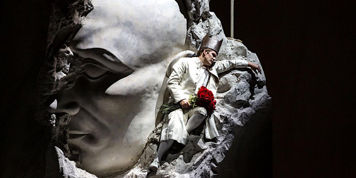 »La clemenza di Tito«, 1. Akt: Stanislas de Barbeyrac in der Partie des Titus Vespasianus © Opéra national de Paris/Emilie Brouchon