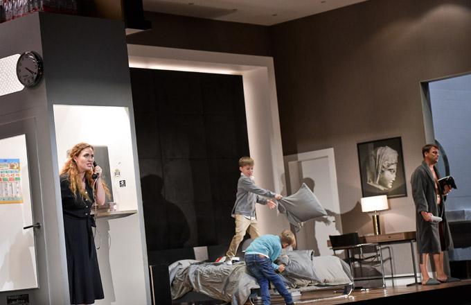 »Mèdée«, 1. Akt: Elena Stikhina (Médée) und Pavel Černoch (Jason) © Salzburger Festspiele/Thomas Aurin