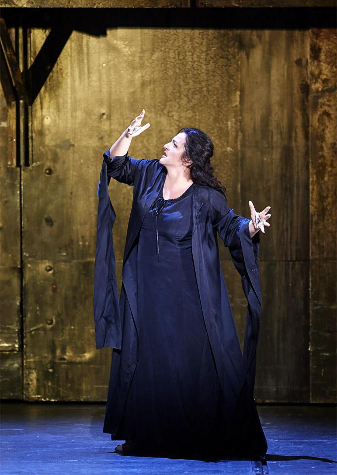 »Les Troyens«, 1. Akt: Monika Bohinec als Cassandre © Wiener Staatsoper GmbH/Michael Pöhn